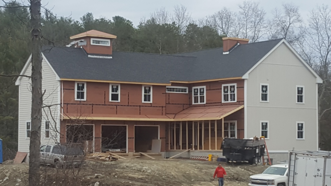 Berlin, MA - New construction for this moder n farmhouse. Looking for standing seam.