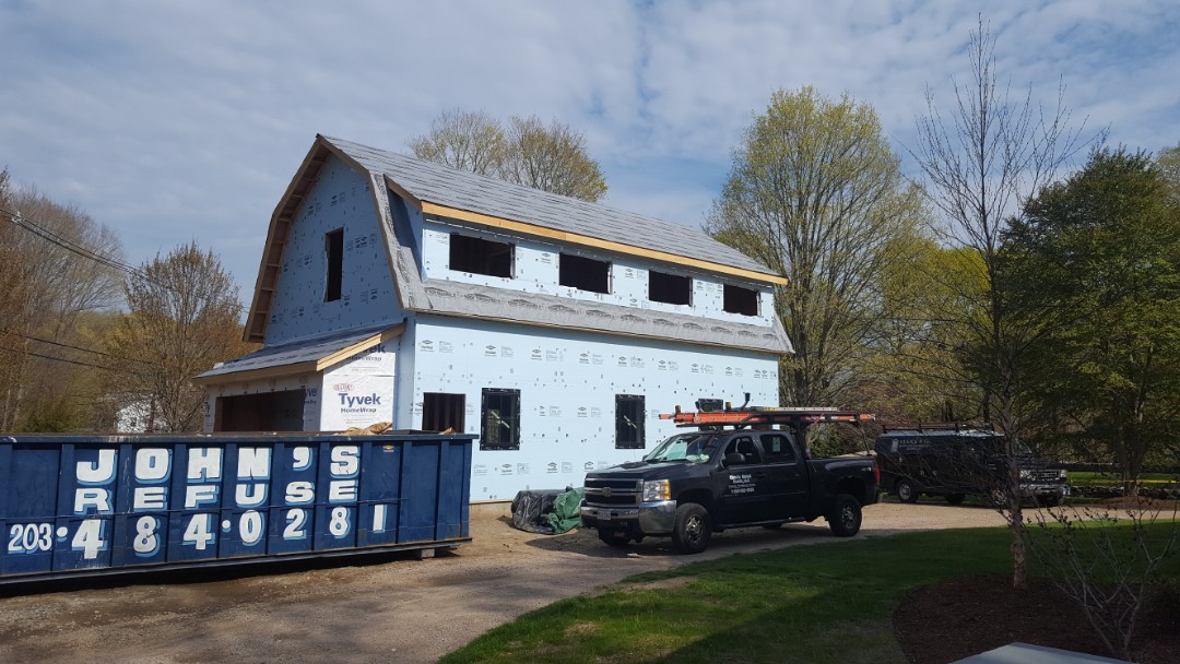Madison, CT - Coming soon! New aluminum metal standing seam roof in Madison Conn.
