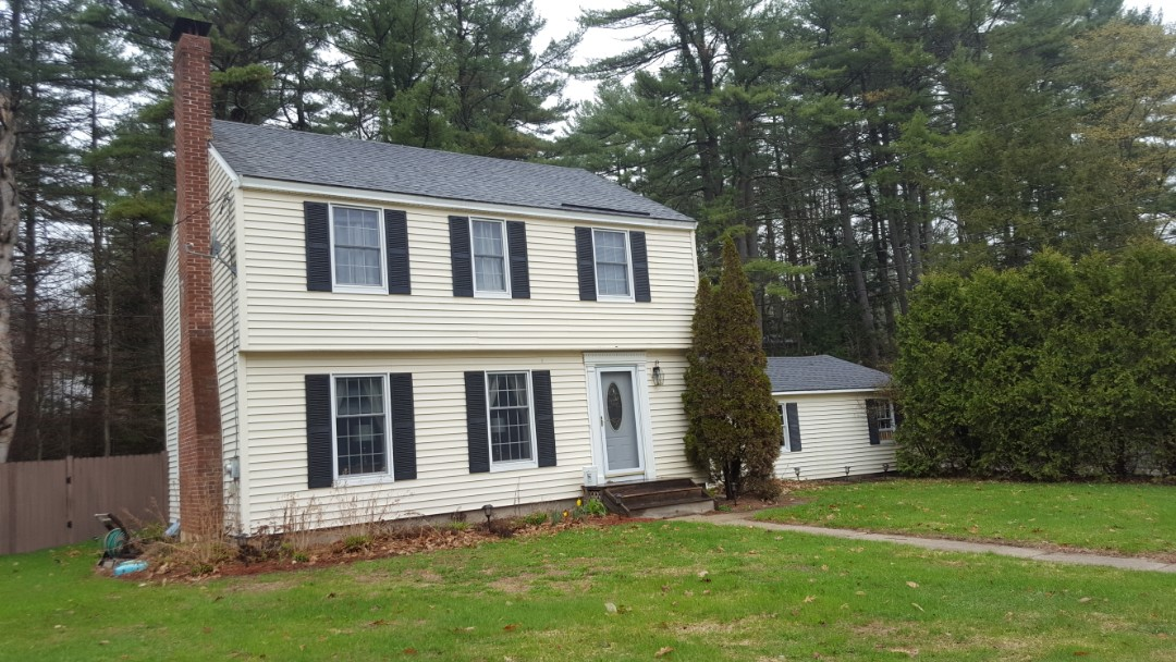 Peterborough, NH - Colonial looking for a lifetime aluminum metal roof.