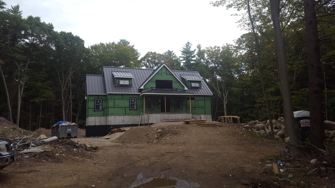 Norwell, MA - All finished in Norwell Mass. Aluminum standing seam metal roof