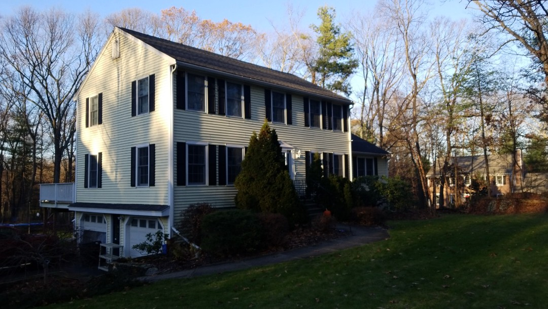 Marlborough, MA - A new metal roof just may be in this home's future. Metal shingle, standing seam?