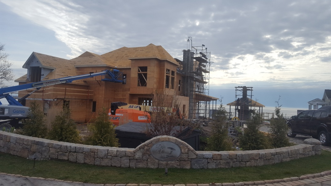 Narragansett, RI - Just getting started on metal roofing project