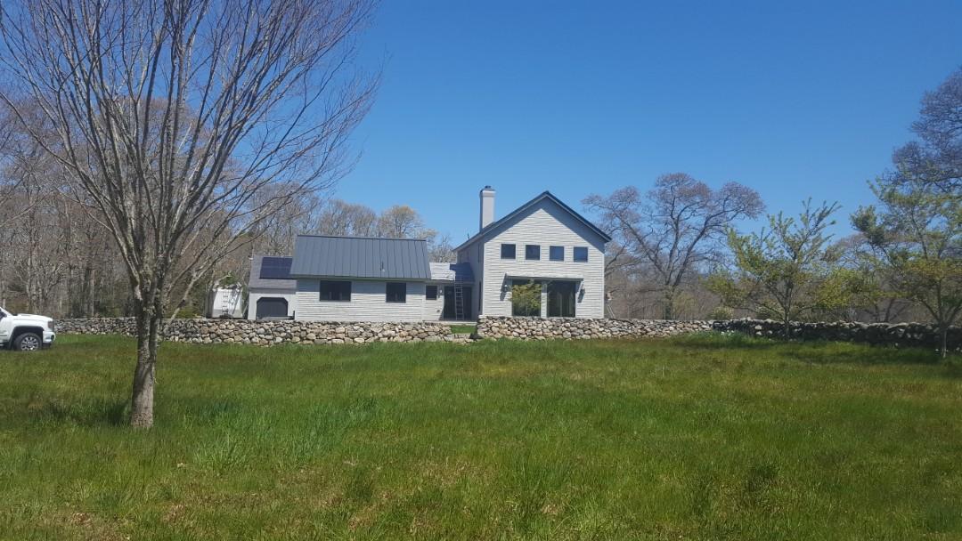 Dartmouth, MA - Aluminum metal standing seam roof