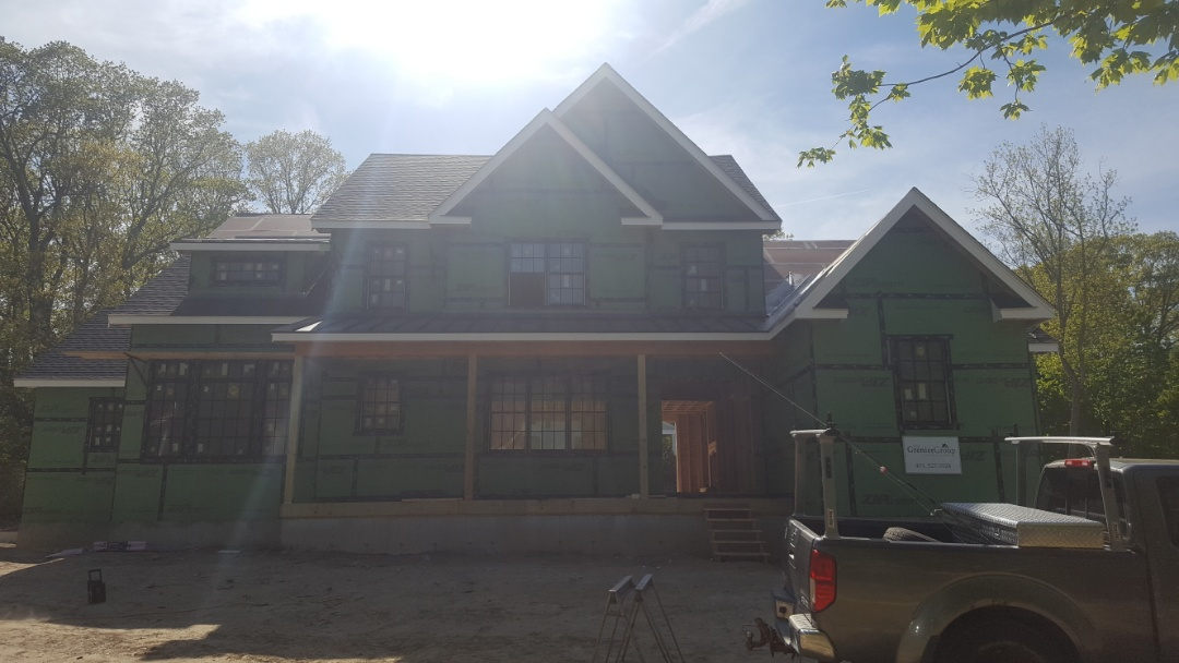 East Greenwich, RI - Aluminum metal standing seam roof