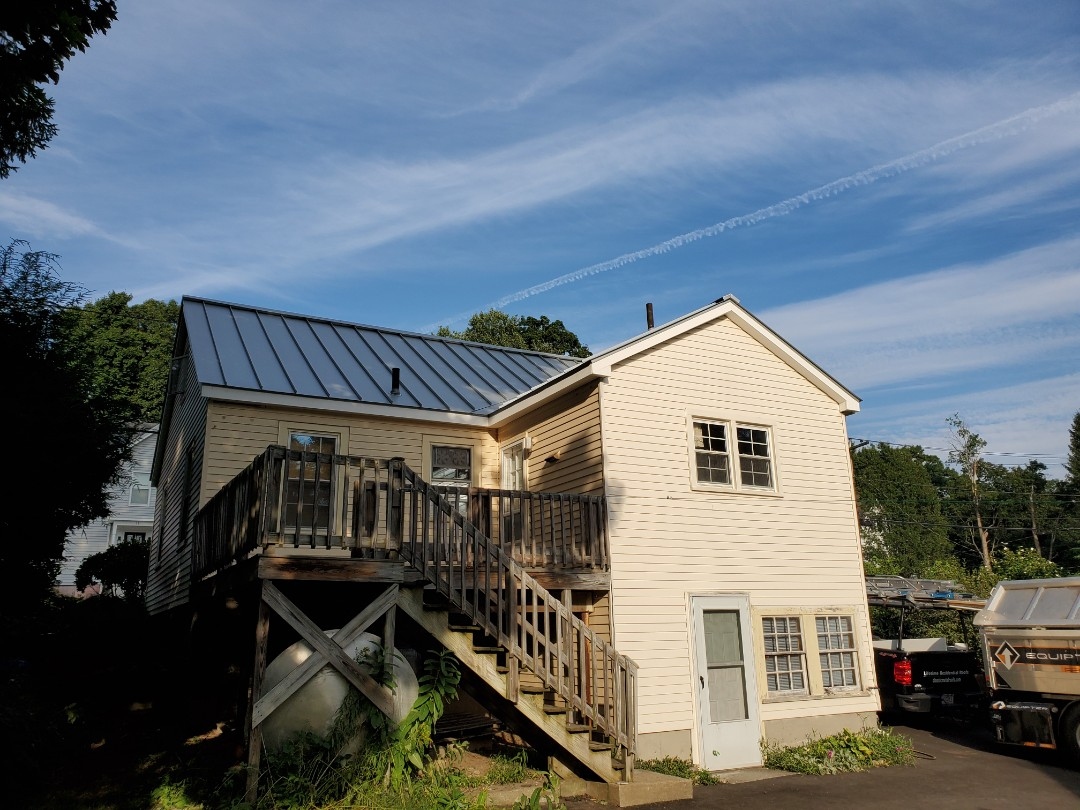 Southborough, MA - New aluminum  Metal standing seam roof