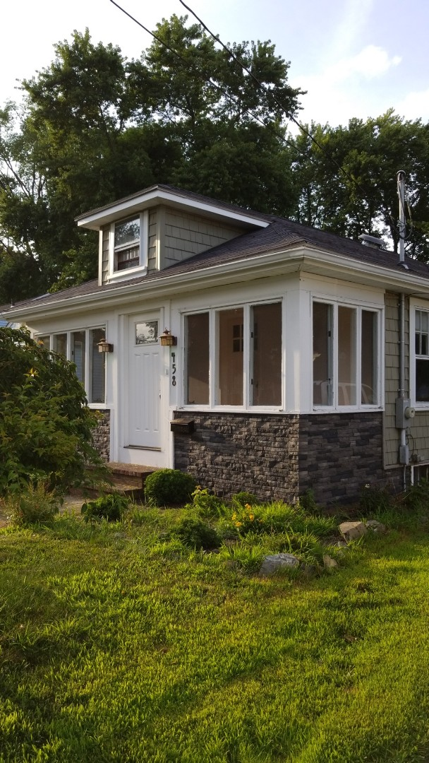 Haverhill, MA - This bungalow will look fantastic with permanent metal roof.