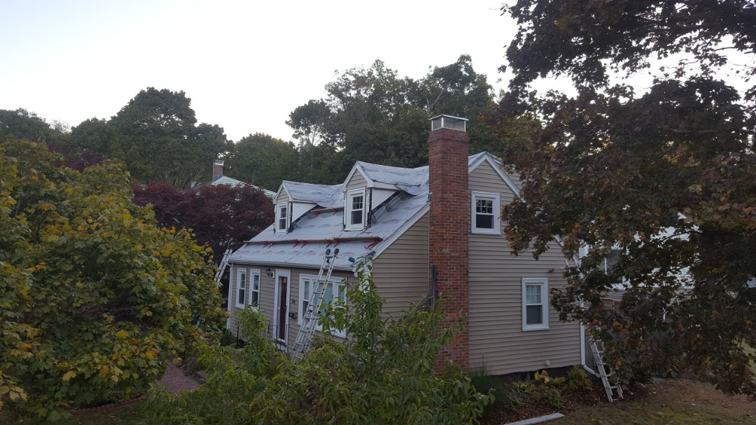 Arlington, MA - Ready for metal shingles in Arlington mass