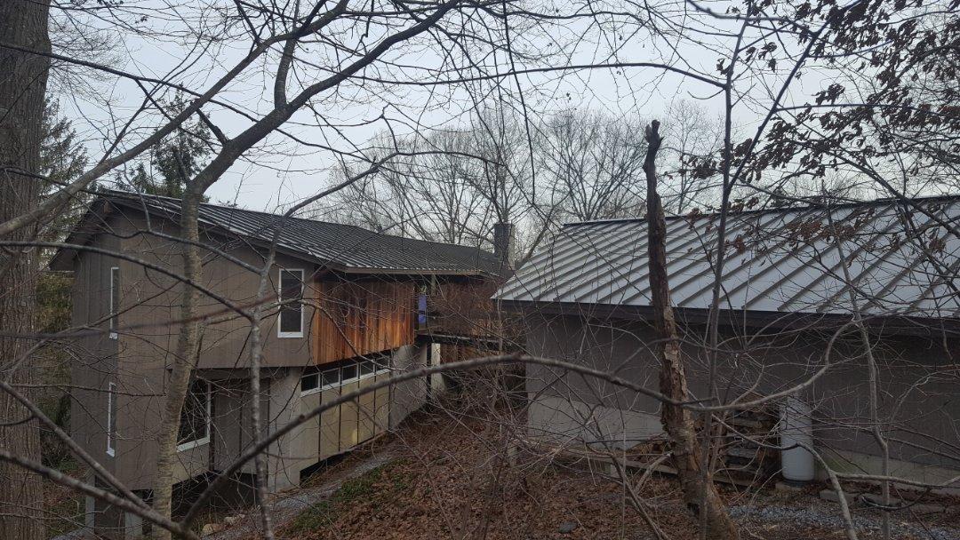 Haddam, CT - Aluminum metal standing seam roof with lifetime warranty