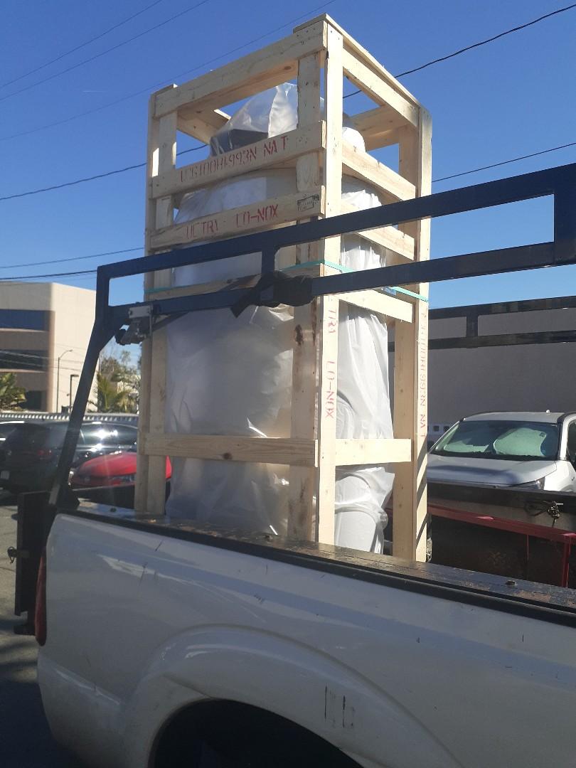 Long Beach, CA - 100 gal water heater install, long beach