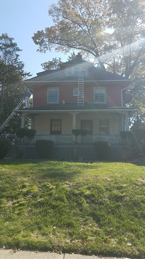 Ardmore, PA - Replacing roofing on old homes