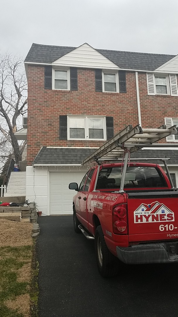 Norristown, PA - Rubber roof inspection
