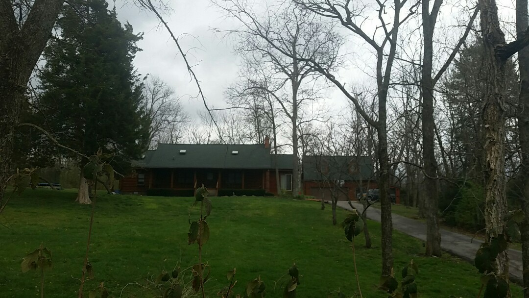 Frankfort, KY - We are in Frankfort today investigating storm damage.