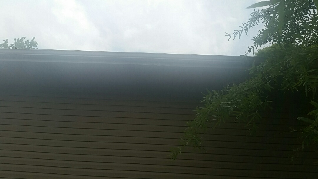 Lexington, KY - We are in the Lansdowne neighborhood today investigating some gutter and fascia damage.