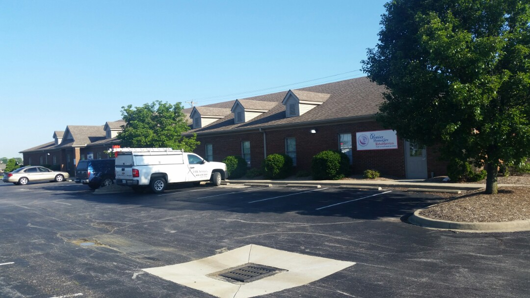 Richmond, KY - Today we are on Park Place Dr in Richmond finishing a GAF Timberline Mission Brown roof on an office complex