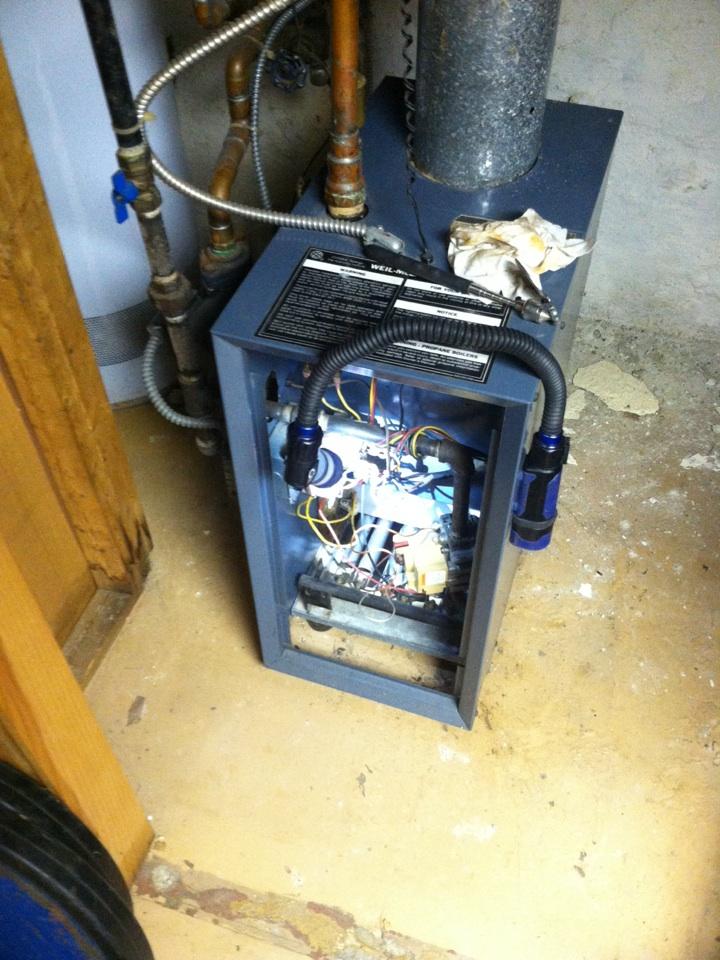 Havertown, PA - Heat PMA on Weil McLain boiler