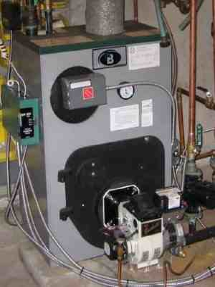 Bryn Mawr, PA - Performed an annual tune up on a Peerless oil boiler in Rosemont, Pa.