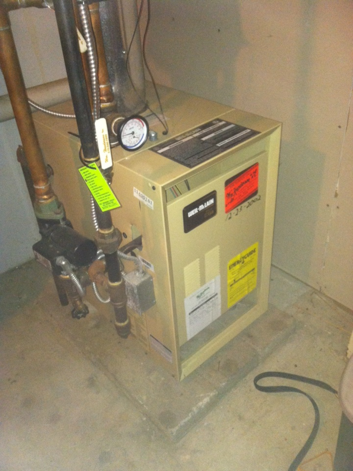 Havertown, PA - Repaired a Weil McLain gas boiler in Havertown, Pa.
