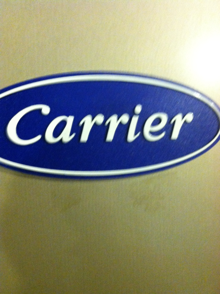 Havertown, PA - Performed an annual tune up on a Carrier high efficiency gas furnace in Havertown, Pa.