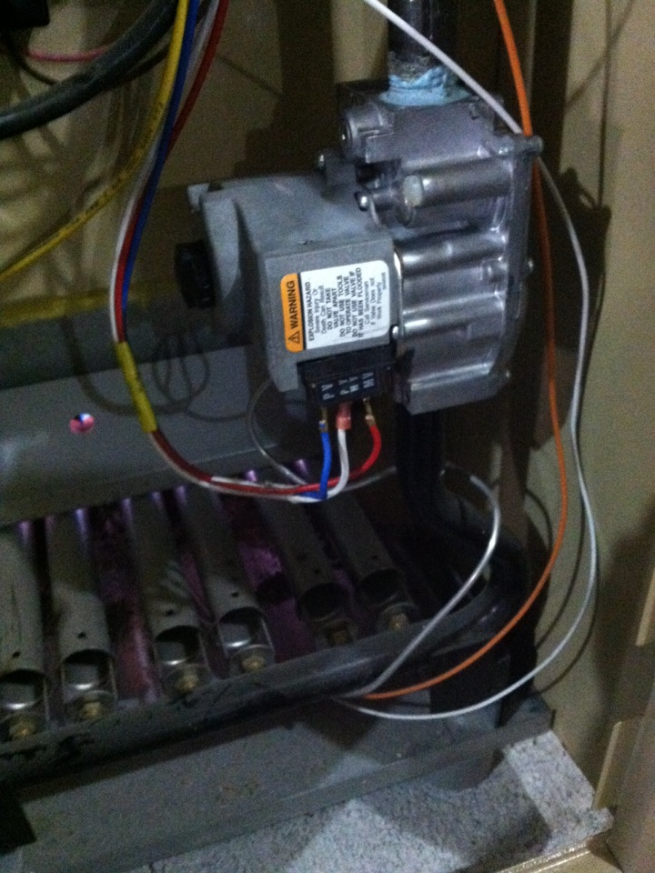Upper Darby, PA - Replaced gas valve on a Weil McLain gas boiler in Upper Darby, Pa.
