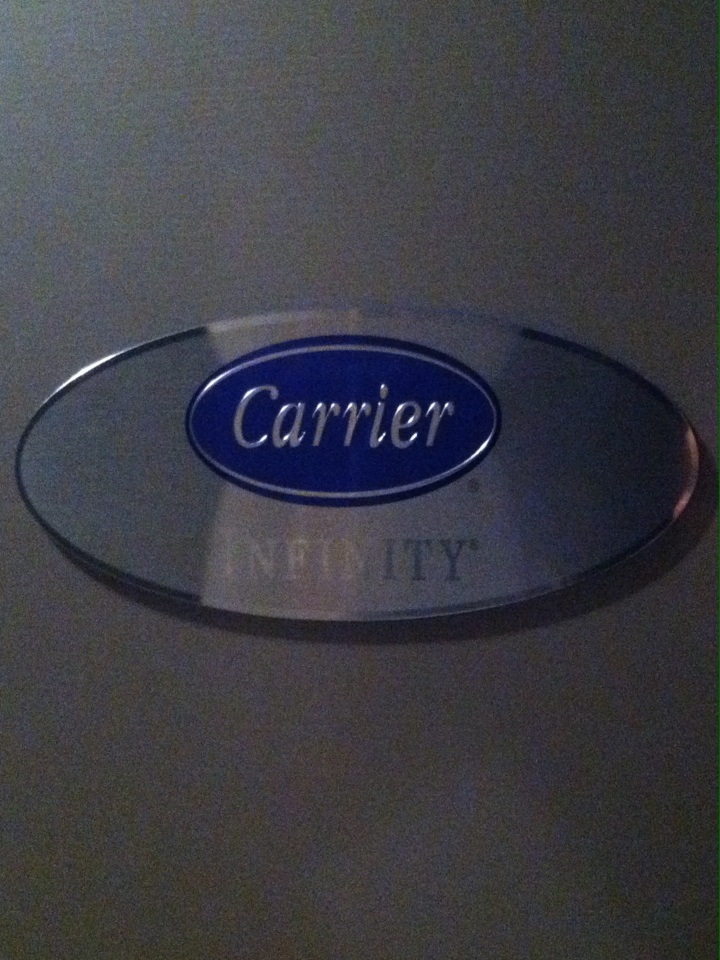 Springfield, PA - Preventive maintenance on a Carrier gas furnace in Springfield PA.