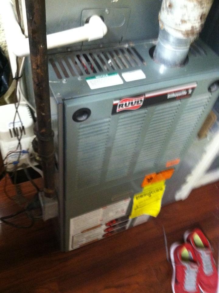 Havertown, PA - Heat PMA on RUUD furnace