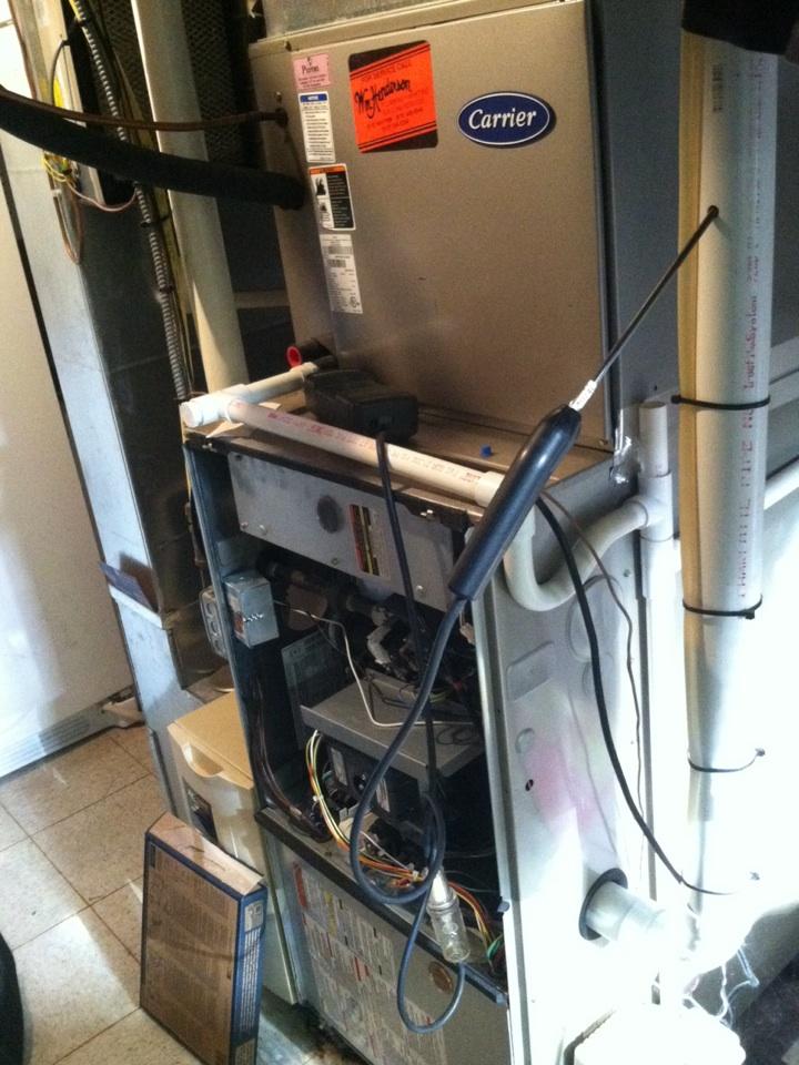 Havertown, PA - Heat PMA on gas furnace