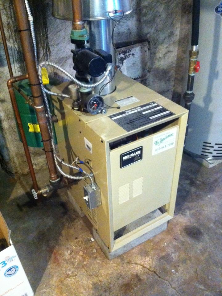 Prospect Park, PA - Heat PMA on Weil McLain boiler