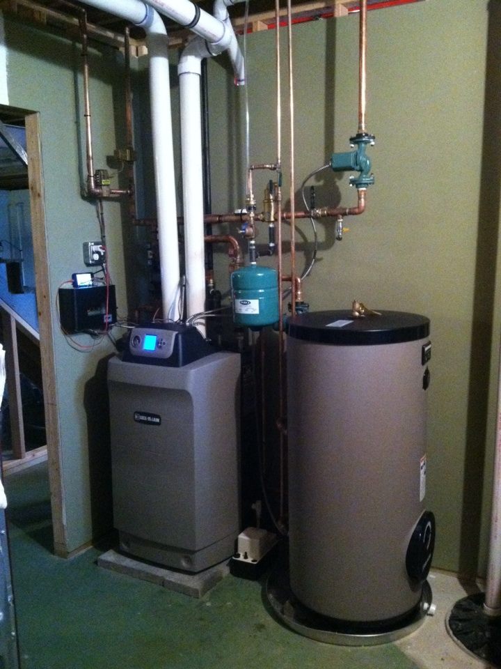 Springfield, PA - Installed Weil McLain High efficiency gas boiler with indirect water heater in Springfield Pa