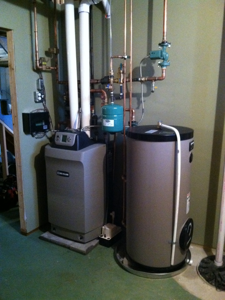 Springfield, PA - Finished Weil McLain boiler install in Springfield Pa