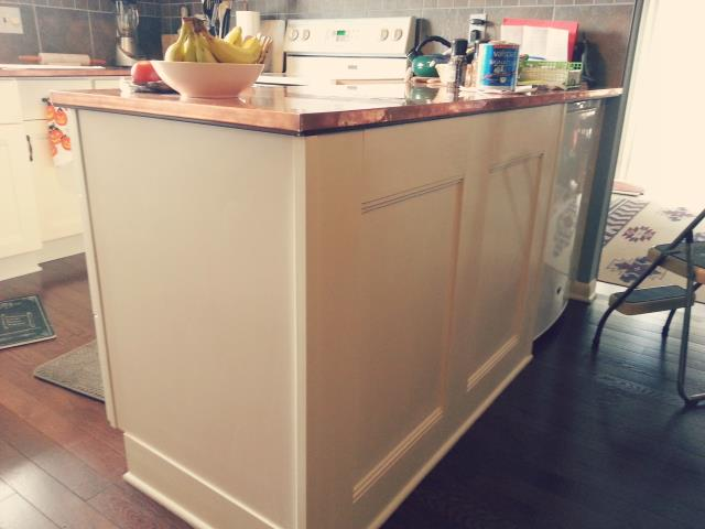 Charter Township of Clinton, MI - Here's a Kitchen remodel we did last year with custom copper counter-tops.