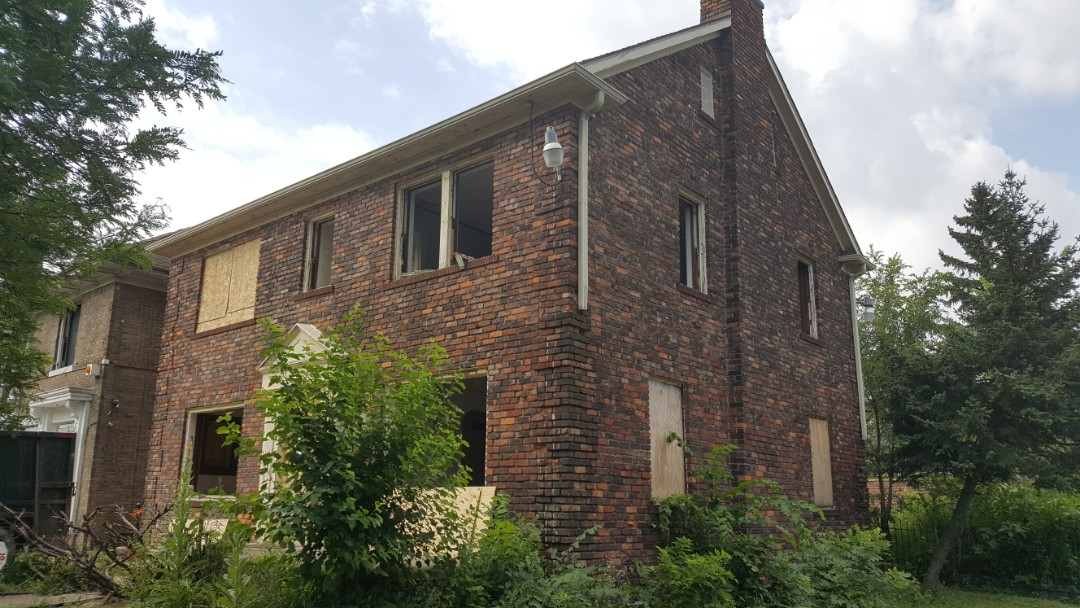 Detroit, MI - Starting a Full home renovation through the Detroit Home Mortgage Program in La Salle Gardens.  Excited to get a lovely couple in their new home.