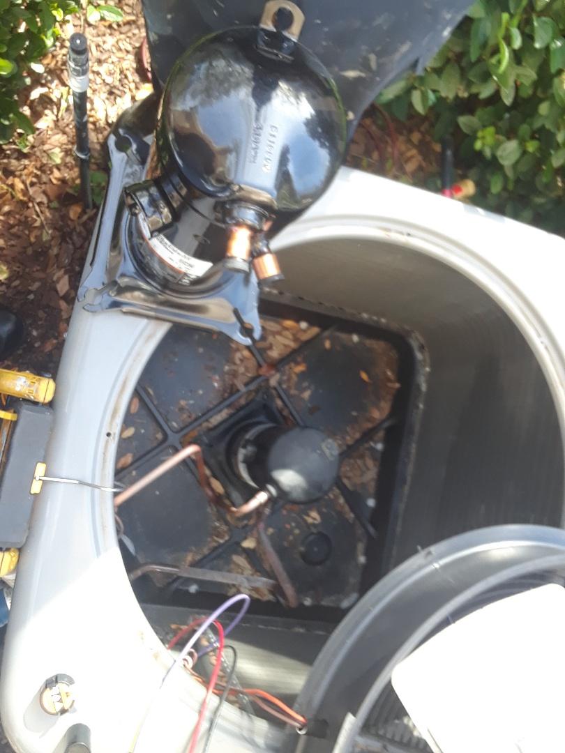 Ocoee, FL - Changing in warranty compressor