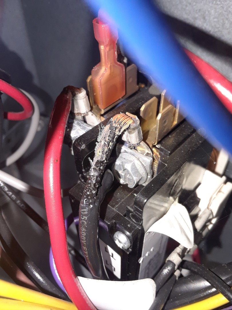 Orlando, FL - Preventive maintenance on AC system found burned wire