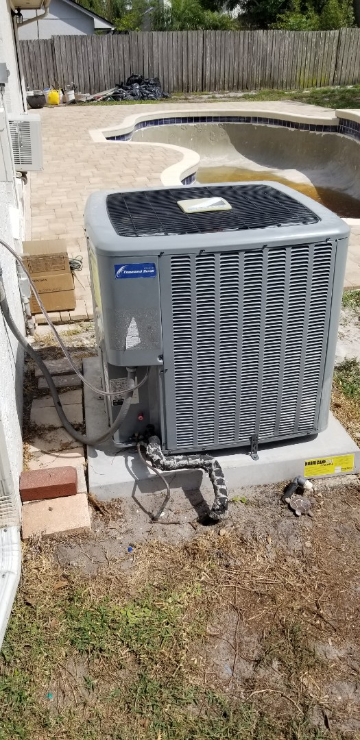 Oviedo, FL - Just installed a warranty coil and refilled with freon and tested system .