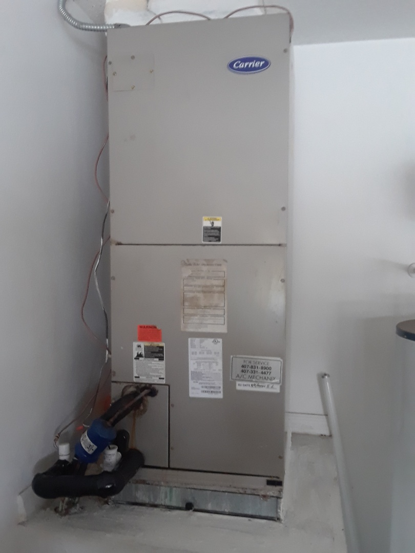 Winter Garden, FL - Finish coil cleaning blower cleaning duct cleaning