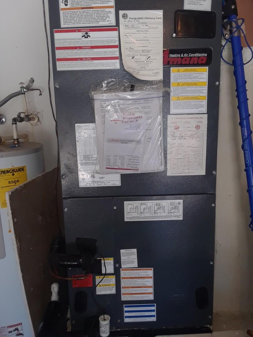 Ocoee, FL - Replacing evaporator coil in warranty for family in Ocoee
