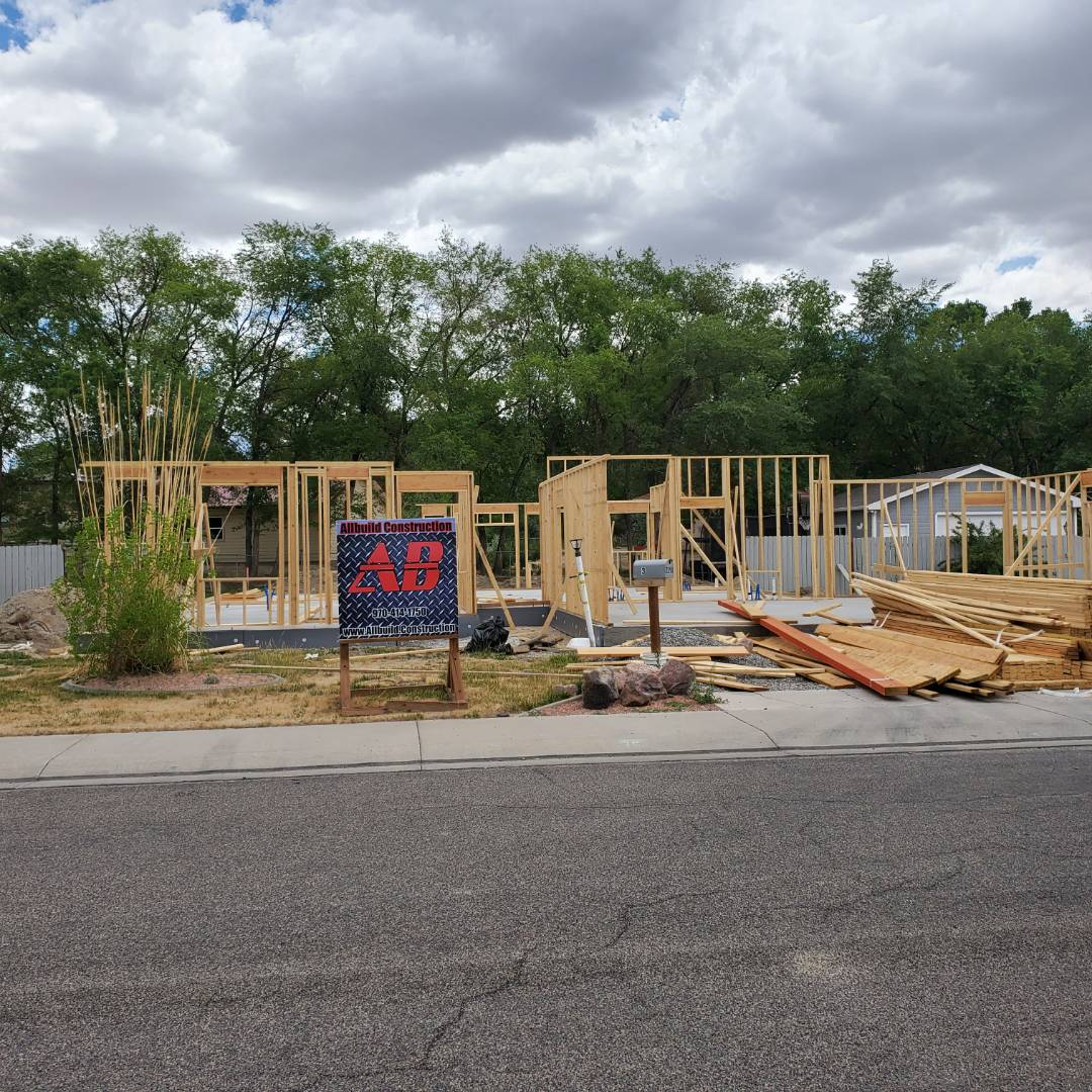 Grand Junction, CO - Allbuild.construction is rebuilding a home that burned down in the Fall Valley subdivision.