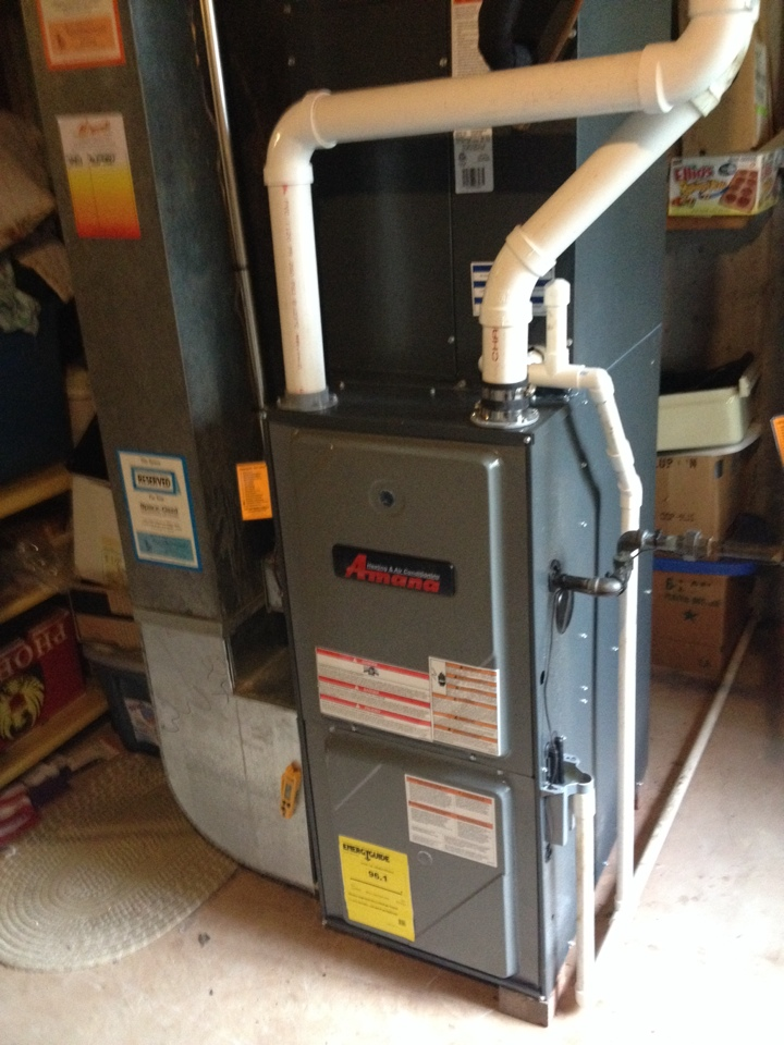 Warrington, PA - Install 96% Gas furnace 2 stage!!