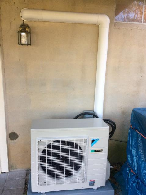 Blue Bell, PA - Split ductless installation