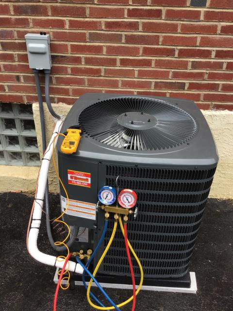 Supplied & Installed new Amana A/C
