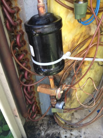 Upper Dublin, PA - Install a new TXV.   Thermal expansion valve