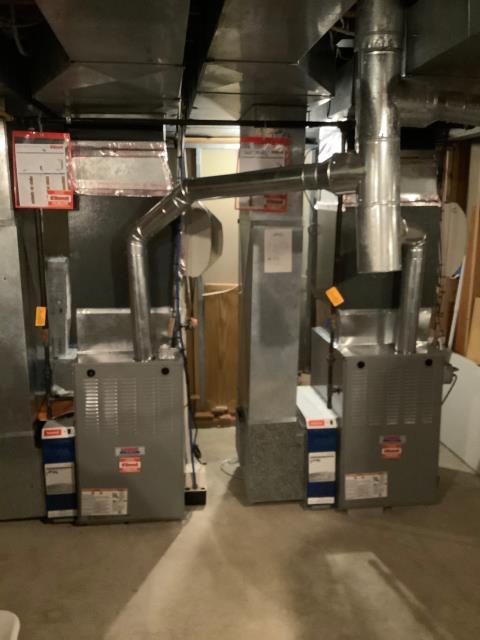 Supplied & Installed 2 Heil Furnaces
