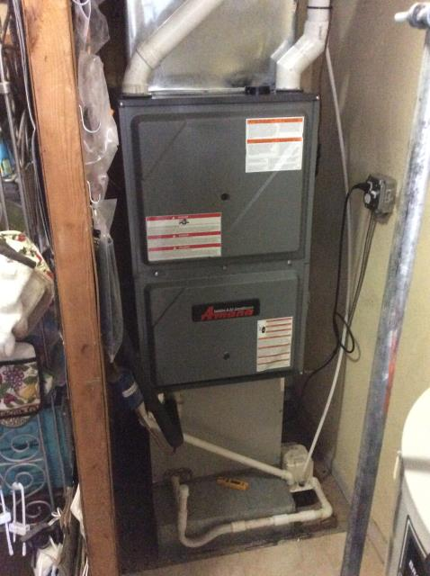 Willow Grove, PA - Supplied & Installed new Amana Furnace