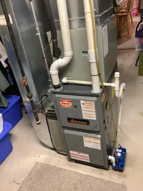 Flourtown, PA - Supplied & Installed Amana furnace