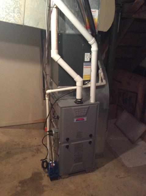 Oreland, PA - Supplied & Installed Heil Furnace