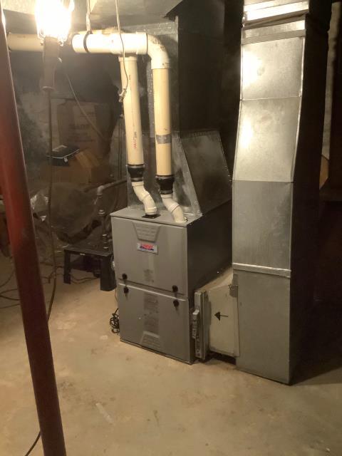 Supplied & Installed Heil Furnace