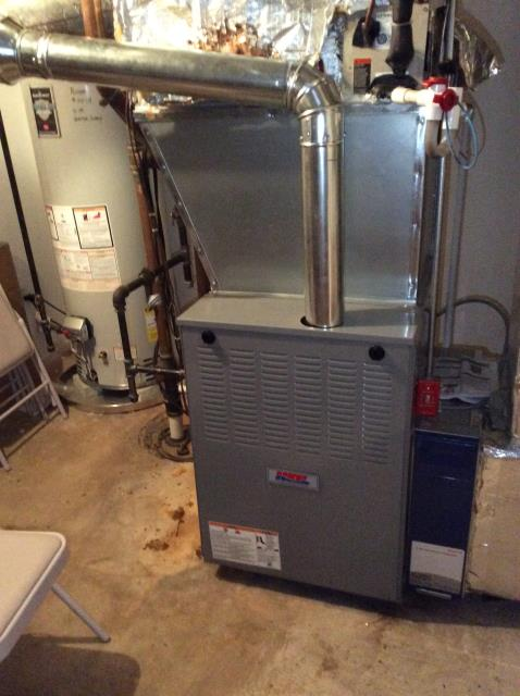 Supplied & Installed Heil Furnace