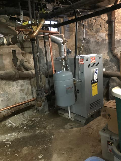 Ambler, PA - Supplied & Installed new boiler