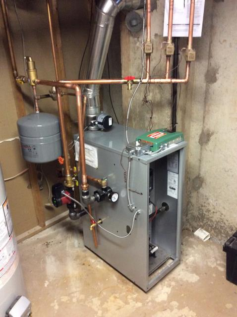 Lansdale, PA - Supplied and installed new Force Boiler