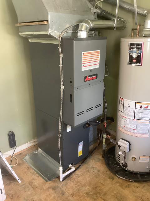 S&I0% 2S MS Furnace 3.0 Amana high efficiency AC SS and 80% 2S MS Furnace Lifetime unit replacement on heat exchanger 1yr maintenance agreement 5 yr labor 10 yr parts warranty